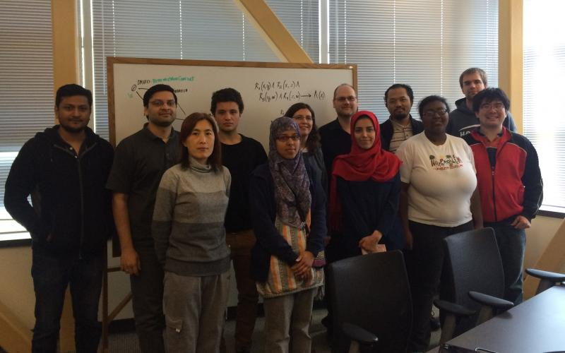 Some DaSe Lab members, Spring 2015