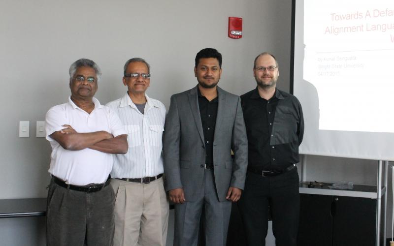 Kunal Sengupta's Dissertation Committee Members (Krzysztof Janowicz missing)
