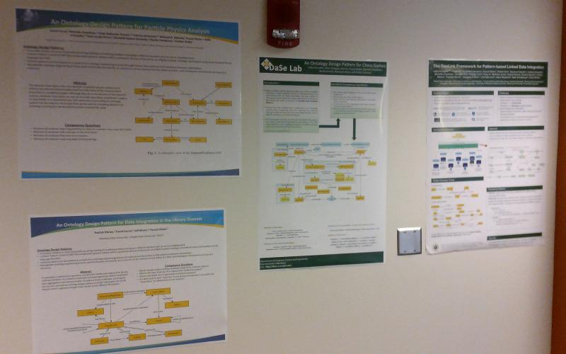 DaSeLab poster wall part one