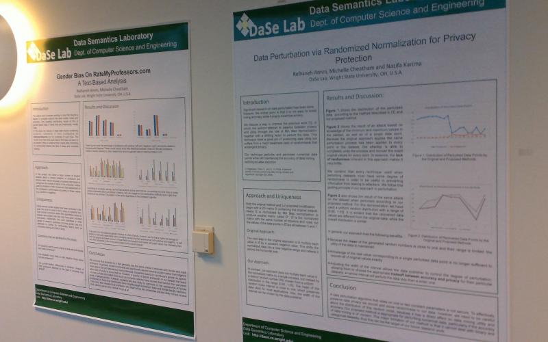 DaSeLab poster wall part two